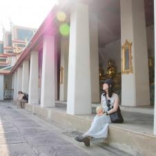 タイのワットポー寺院とカービングの融合